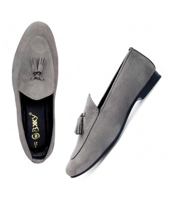 Bxxy Men's Casual Suede Material Loafer & Mocassins Shoe