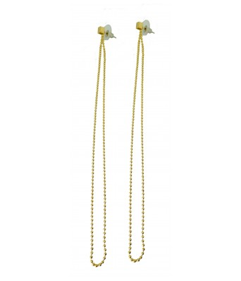 The Square One by Aditi Gautam Iffet Elegant Goldn Chain Drop Statement Earrings for Women & Girls