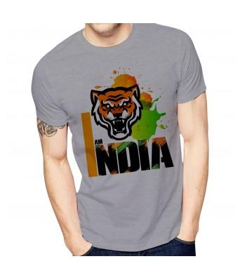 Ghantababajika Mens Printed India T-Shirt Quote Printed T-Shirts