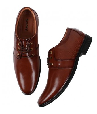 Day Breakers Trendy Party Formals Derby Brown Color for Mens and Boys