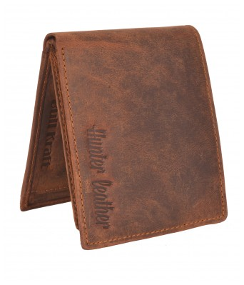 BullKraft Mens Casual Hunter Leather Formal Genuine Leather Wallet