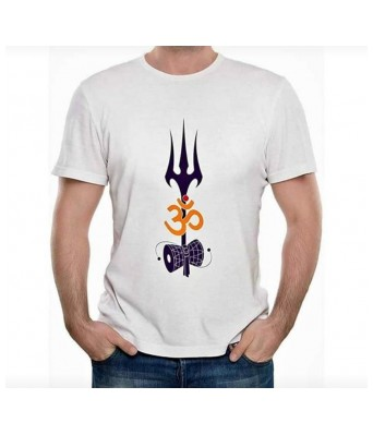 Hyper Take Mens Mahashivratri Special Round Neck Black Color