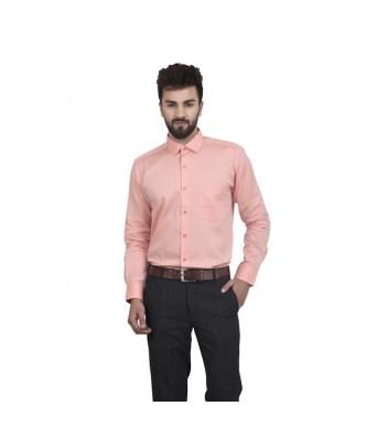 MSG Orange Casuals Regular Fit Shirt