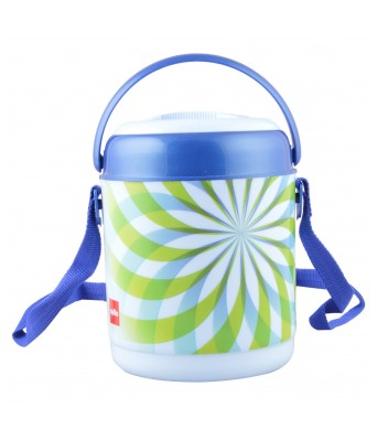 Cello Mark Insulated 3 Container Lunch Carrier, Blue (LP_PETR3_Blue_3 CNT)