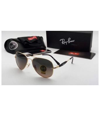 KDH sunglasses 3517 brown glass gold frame for unisex