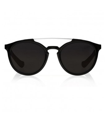 FASTRACK ROUND SHINY BLACK 100% UV PROTECTED SUNGLASSES FOR GUYS