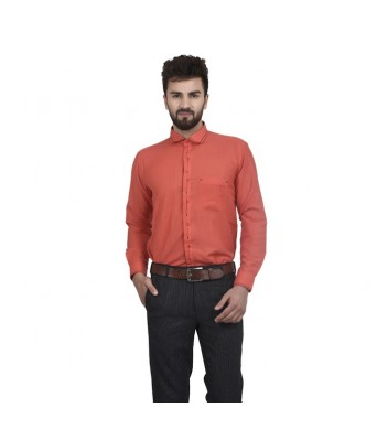 MSG Red Casuals Regular Fit Shirt