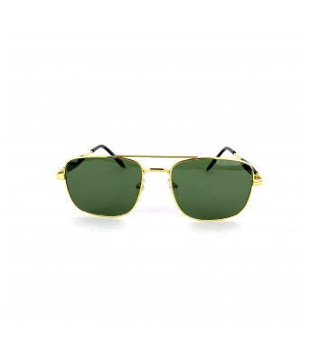 SARGA NEWLOOKS   UV Protected Aviator Unisex Sunglasses (GOLDEN) Lens Width:  4.5