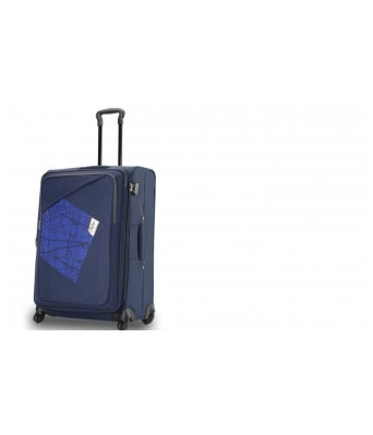 Skybags Vegas Others 67 cms Softsided Suitcase (STVEG66WBLU) Medium Luggage by Skybags