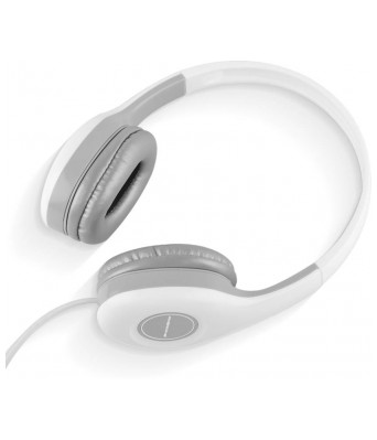 Ambrane Ultra Comfortable Wired Headphone HP-10 With Mic(White)