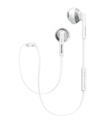 Philips SHB5250WT/00 In Ear Wireless Earphones With Mic White