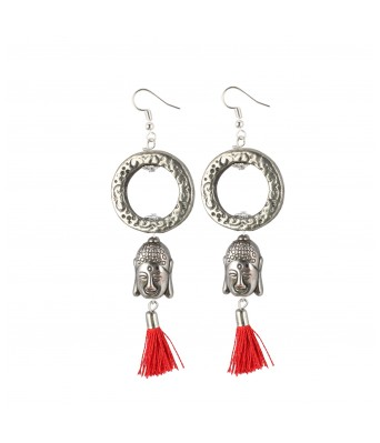 for Women and Girls Aradhya Stylish Navratri//Durga Puja Collection Beads Oxidized Golden Earrings