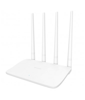 Tenda F6 Wireless N300 Easy Setup Wi-Fi Router 300 Mbps (White, Not a Modem)