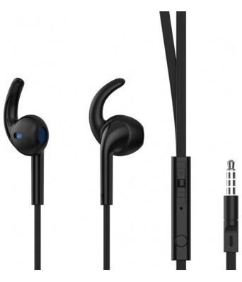 Philips IN-SHE1525BK/94 Headset with Mic  (Black) Philips IN-SHE1525BK/94 Headset with Mic (Black)
