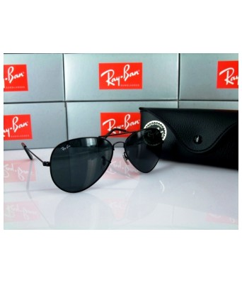 Crazy black aviator men sunglasses