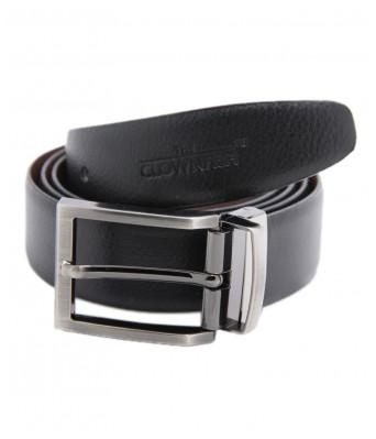 Ansh Fashion Wear Mens Non Leather Reversable Stylist belt