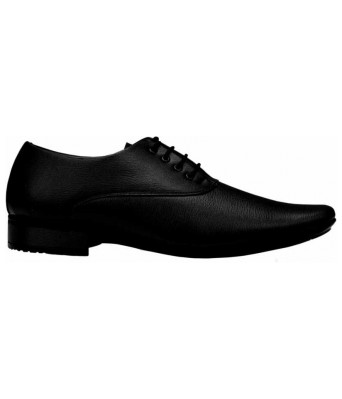 Smoky Black Formal Shoes for Men