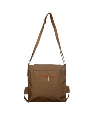 BUEVA Non Leather Stylish Sling Bag Chocolate Color