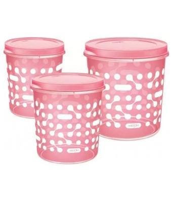 MILTON Plastic Container - 5 L, 7 L, 10 L, Pink