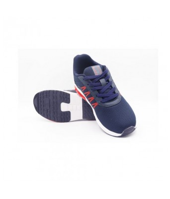 Columbus Brazil mens Running Shoes (Navy/Rust)