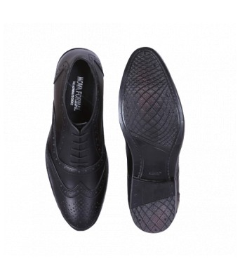 100% Genuine Quality Black Leather Shoes for Men