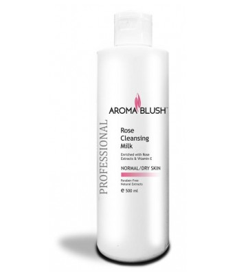 Aroma Blush Rose Cleansing Milk ( 500 ml)