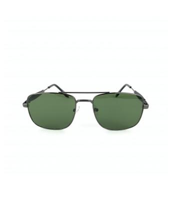 SARGA NEWLOOKS   UV Protected Aviator Unisex Sunglasses (BLACK) Lens Width:  4.5