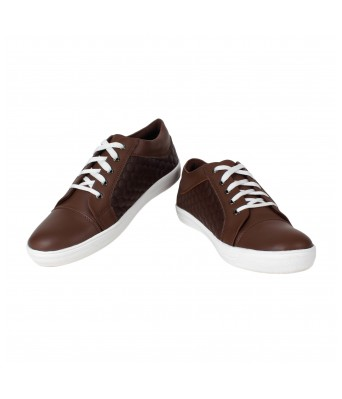 Yellow Tree Men Brown Casual Shoes