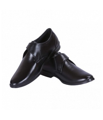 Ramoz Genuine Quality Black Leather Shoes for Men