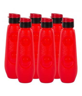 G-PET FB 1 Ltr Blue Bell (PP) - Red  Pack Of 6 Bottles