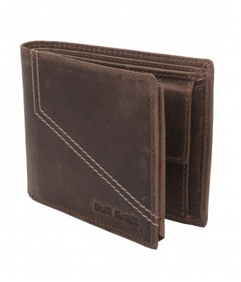 Mens Casual Formal Genuine Leather Wallet