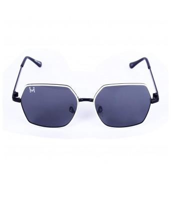 HENRY RICHEL Sunglasses Fancy Black to White Black HR_4010