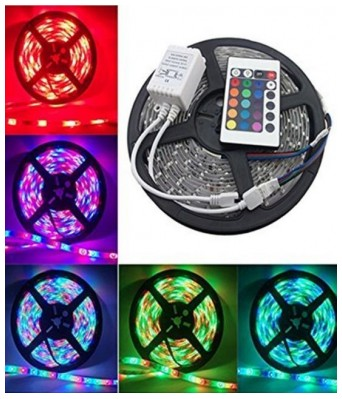 5 m Waterproof Remote Control Led Strip Light for Home, Office, Diwali, Eid and Christmas Decoration -(Multicolour)