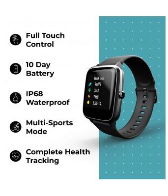 Noise Colorfit Pro 2 Full Touch Control Smart Watch Jet Black