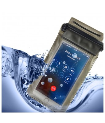 Sasta Bazar Waterproof Mobile Bag/Pouch/Case Cover 3-Way Sealed for All Mobile Phone up to 5.5 inch
