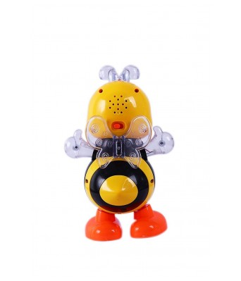 Bingo Gift Gallery Presentb Dancing Happy Bee Toy with LED Light Musical Sound for Baby Children Kids