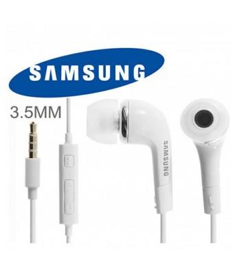 Samsung Earphone/Headphone Galaxy J5 Headphones WIth Mic, Earphones, Handsfree Headset With Deep Bass And Music Equalizer (White)