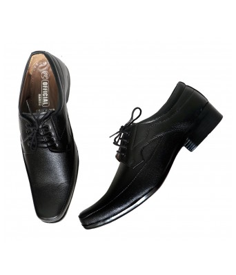 DAYBREAKERS MENS LACED-UPS MENS BLACK COLOR FORMAL SHOES
