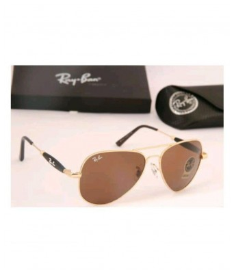 Stylish 3517 brown gold sunglasses for men