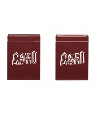 Parksons Cairo Casino-Pure Plastic Poker Playing Cards for Poker games / party - Pack of 2