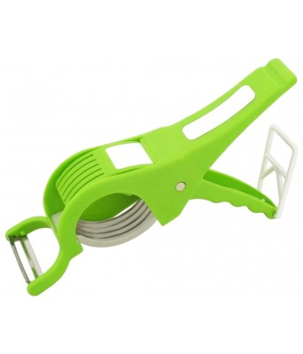 JINPRI DREAMATION DESIGNING 2 in 1 Stainless Steel 5 Blade Vegetable Cutter with Peeler