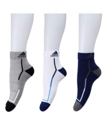 Hezal Multi  Ankle Socks For Men (3 Pair)