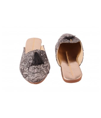 AMAZING TRADERS Synthetic Leather Slipper For Womens,Girls (Black Color)