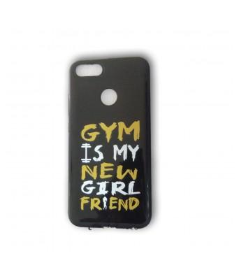 Sasta Bazar Gym is My New Girlfriend Designer Printed Soft Back Shell Case for RedMi A1/5X