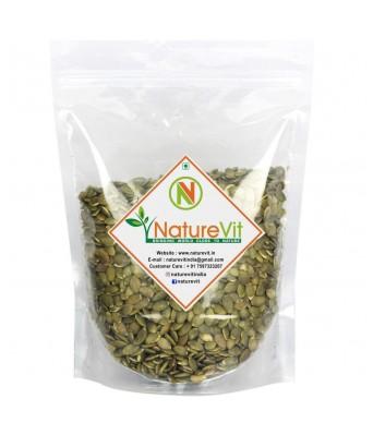 NatureVit Raw Pumpkin Seeds for Eating - 400 Grams
