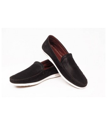 Contablue Penny Loafers  (Black)