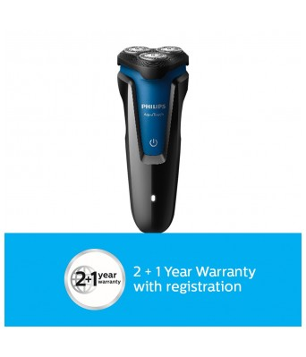 Philips S1030 04 Wet and Dry Electric Shaver (Black)