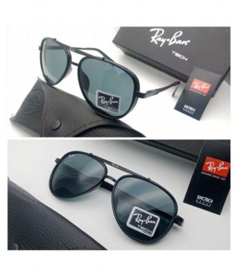 Crazy Black Glass black frame sunglasses for Men
