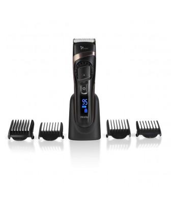 Syska HB 100 Ultra Clip Runtime: 90 min Grooming Kit for Men  (Black)