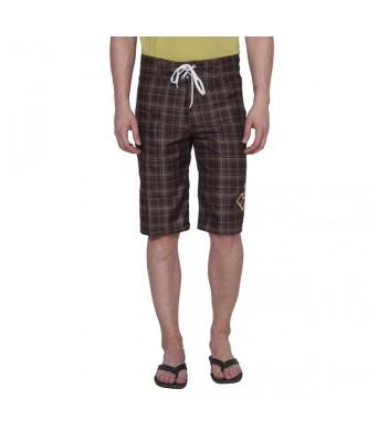 Billabong Men Casual Brown Polyester Shorts
